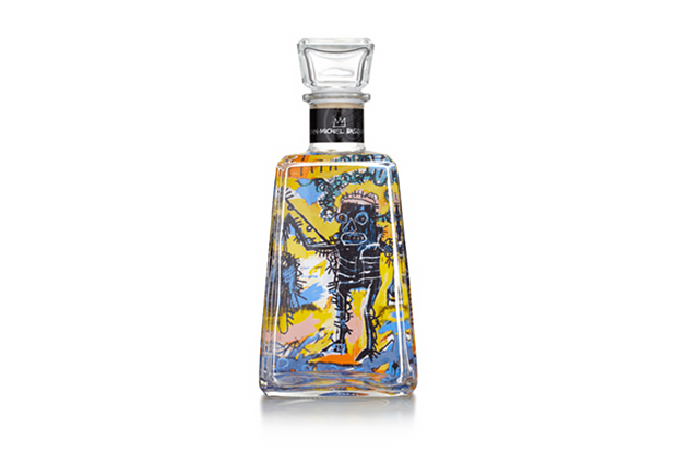 Image of Jean-Michel Basquiat x 1800 Tequila Limited-Edition Bottles