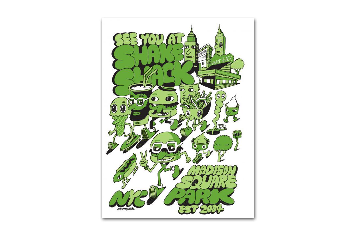 Image of Jeremyville x Shake Shack T-shirt