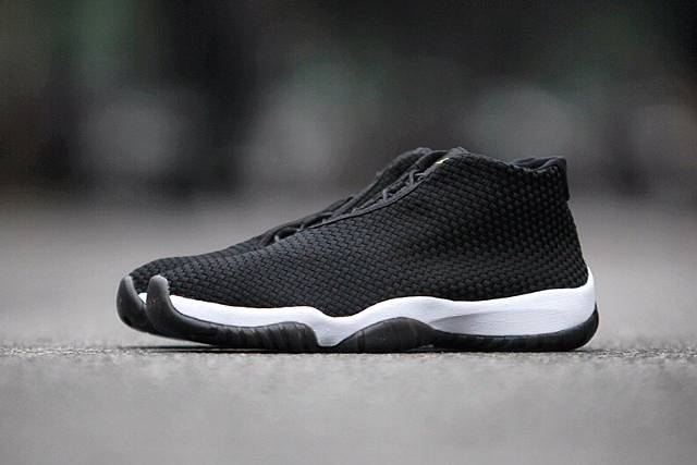Image of Air Jordan Future Black/Black-White