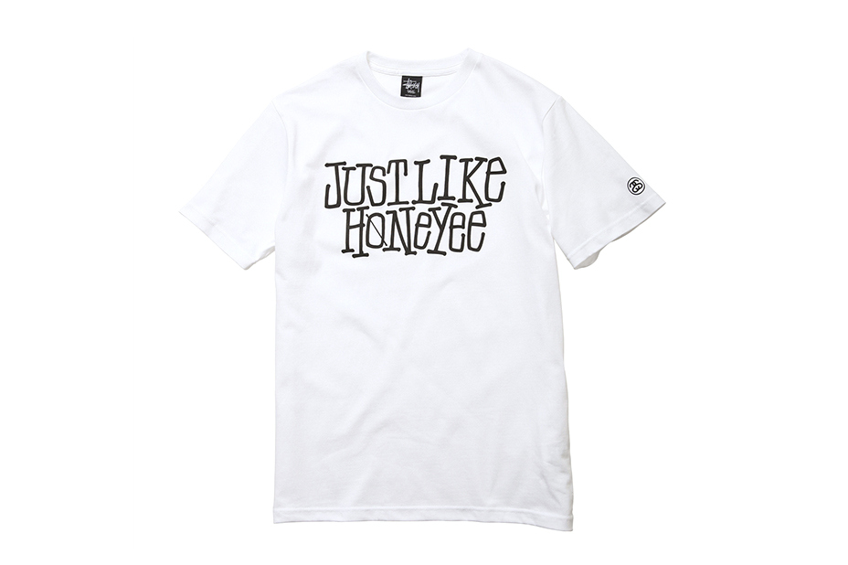 Image of JUST LIKE HONEYEE x Stussy T-Shirt