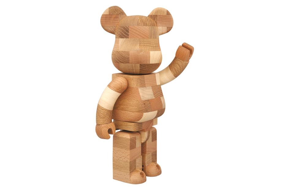 Image of Karimoku x Medicom Toy 400% Handmade Bearbrick