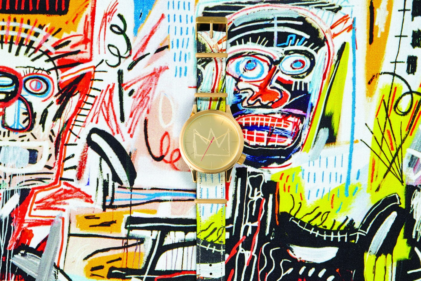 Image of Basquiat x KOMONO 2014 Spring/Summer Watch Collection