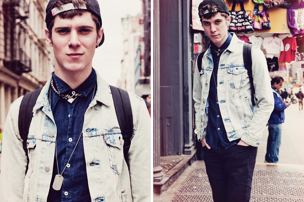 "Image of Levi's® #Equipped 2014 Spring/Summer ""No Ordinary Day"" Editorial"