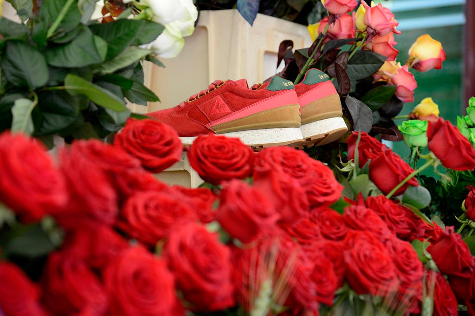 "Image of LimitEDitions x Le Coq Sportif 10th Anniversary Éclat ""Rose-EXD"""