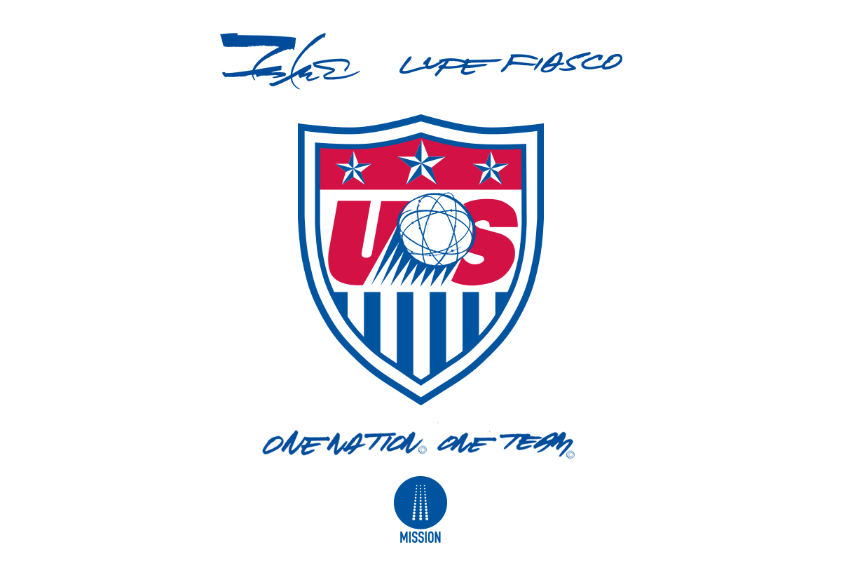 Image of Lupe Fiasco and Futura Join U.S. Soccer Campaign for 2014 FIFA World Cup