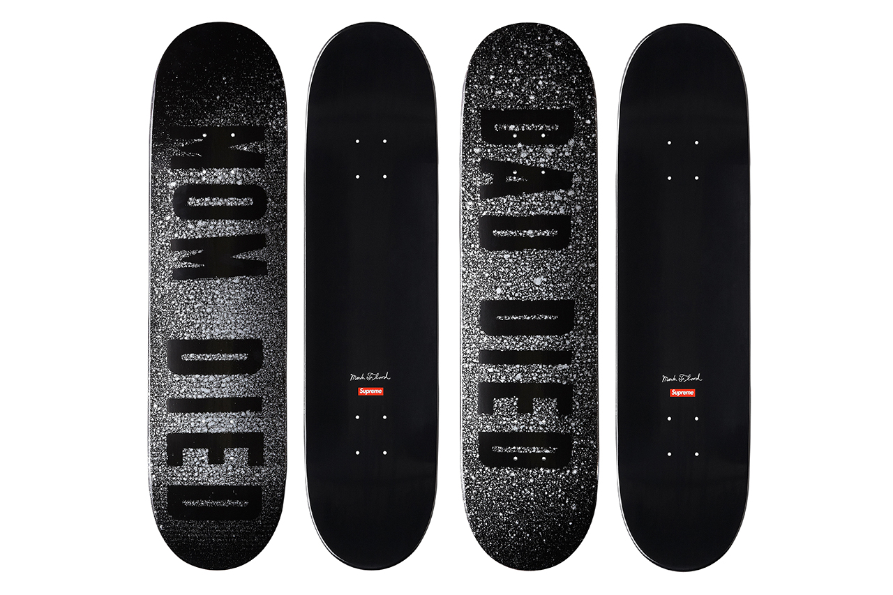 Image of Mark Flood for Supreme Skate Decks
