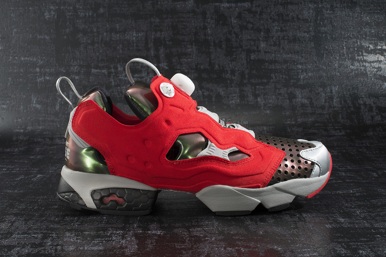 "Image of Megahouse Toys x Reebok Instapump Fury ""Ghost In The Shell"""
