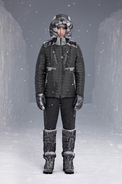 Image of Moncler W 2014 Fall/Winter Collection