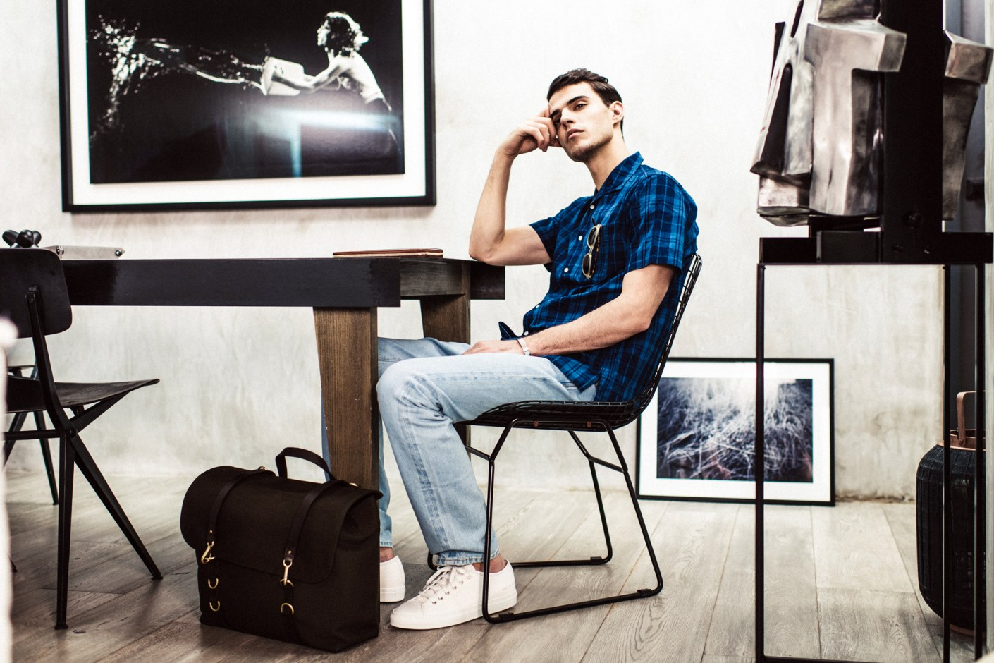 "Image of MR PORTER 2014 Spring/Summer ""Simplicity"" Editorial"
