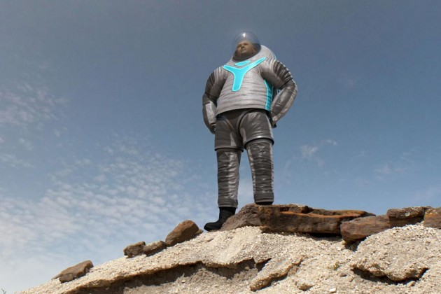 Image of NASA's New Z-2 Spacesuit