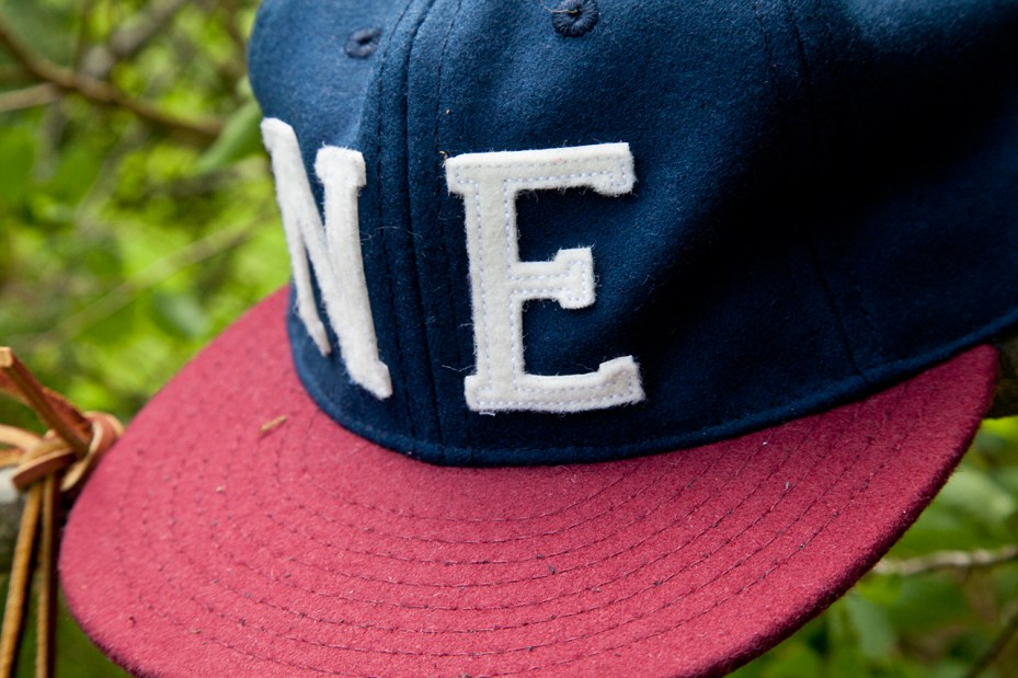 Image of New England Outerwear Co. x Ebbets Field Flannels 6-panel Cap Collection