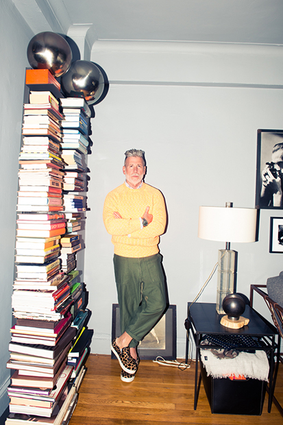 Image of The Coveteur Takes Us Inside Nick Wooster's Closet