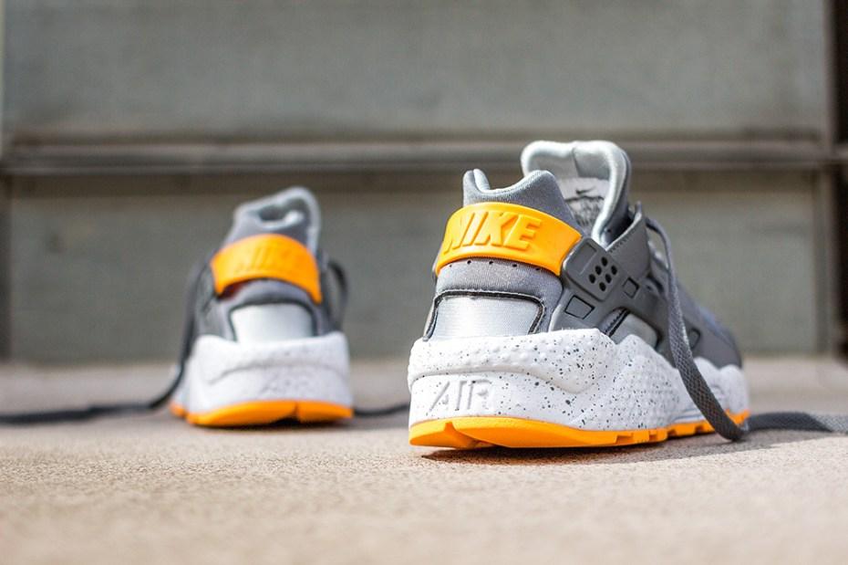 Image of Nike Air Huarache Grey/Orange