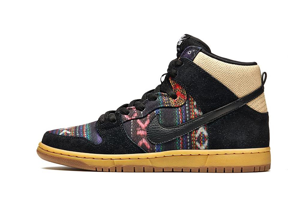 "Image of Nike SB Dunk High Premium ""Hacky Sack"""