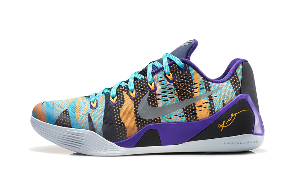 Image of Nike Kobe 9 EM Court Purple/Atomic Mango-Turquoise