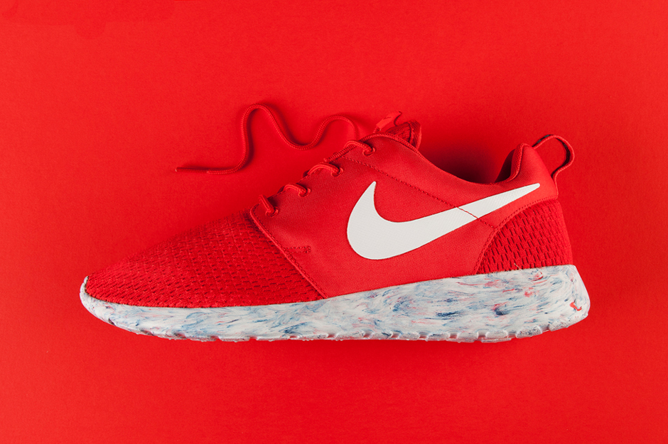 "Image of Nike Roshe Run ""Marble"" Red"