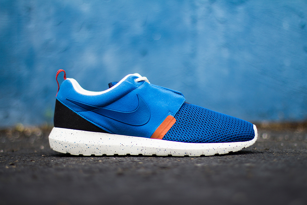 Image of Nike Roshe Run NM BR Military Blue