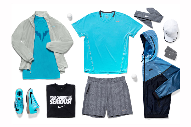 Image of Nike Tennis Unveils 2014 French Open Athlete Looks