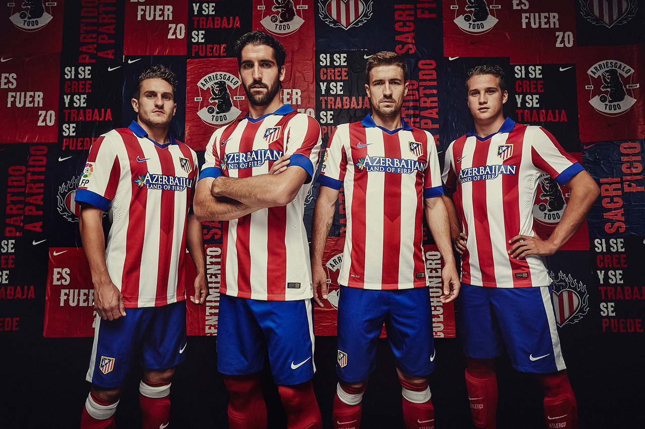 Image of Nike Unveils Atlético Madrid's New 2014/15 Kit