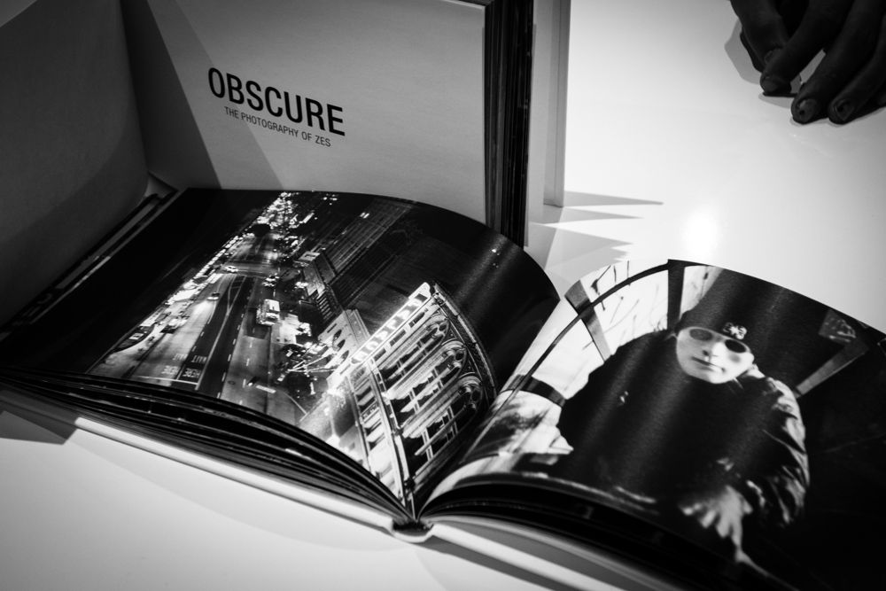 Image of 'OBSCURE' Photography Book by ZES