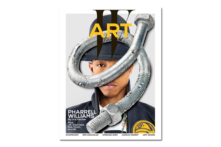 Image of Pharrell Covers W Magazine's Annual Art Issue