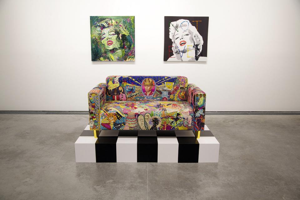 """Image of Pharrell Williams """"G I R L"""" Exhibition @ Galerie Perrotin Recap"""