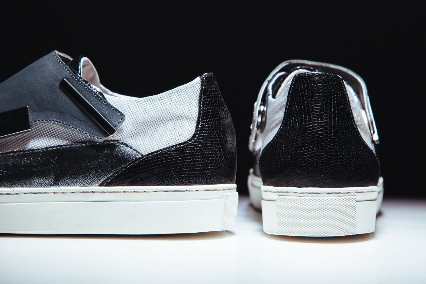Image of Raf Simons 2014 Spring/Summer Removable Lace Guard Sneaker