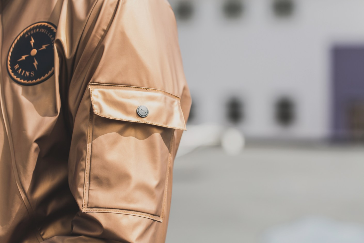 Image of RAINS x ASGER JUEL LARSEN 2014 Spring/Summer Jacket