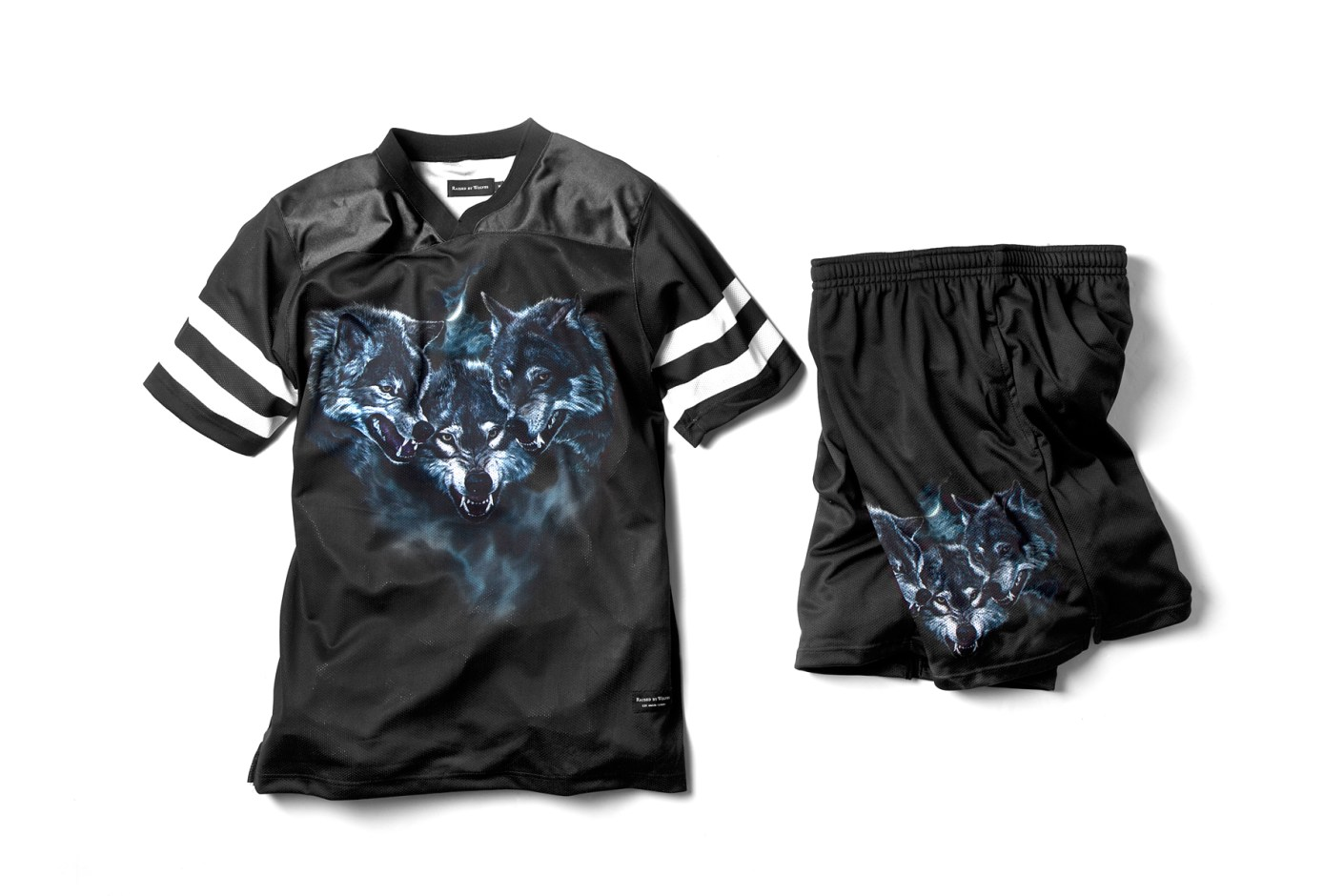 Image of Raised by Wolves 2014 Spring/Summer Wolfpack Jersey and Shorts
