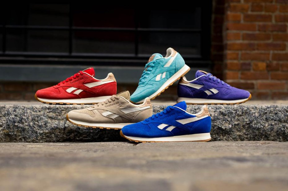"Image of Reebok 2014 Classic Leather ""Summer Suede"" Pack"