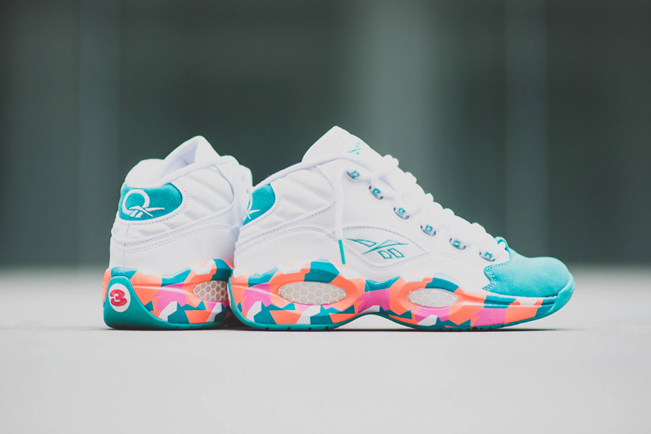 """Image of Reebok Question Mid """"White Noise"""""""