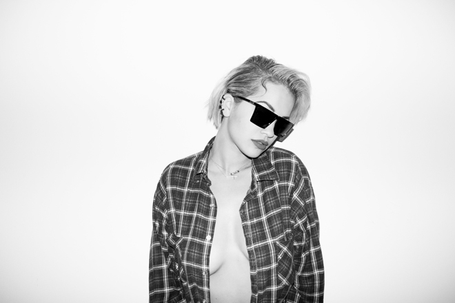 Image of Rita Ora Visits Terry Richardson's Studio