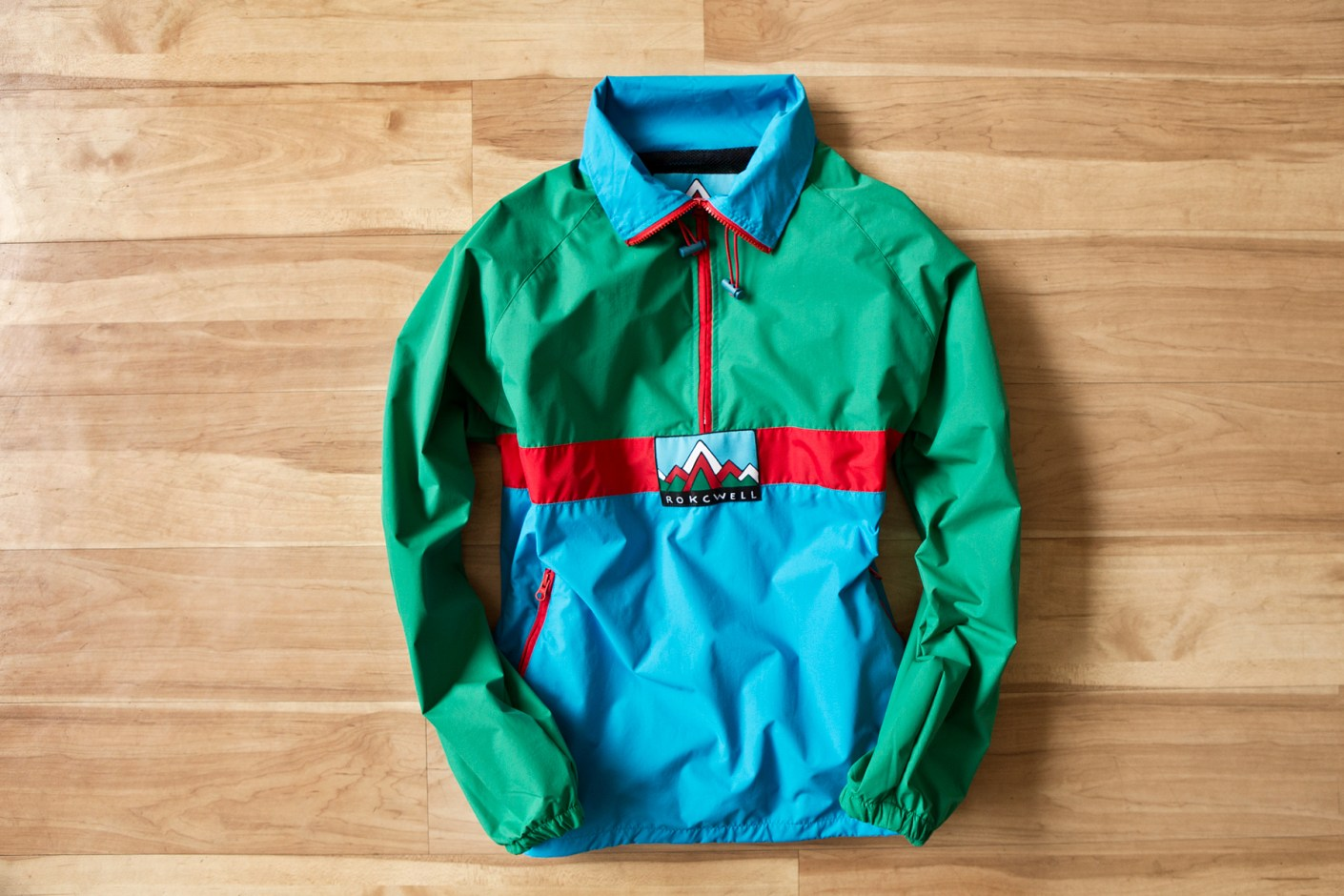 Image of Rockwell by Parra 2014 Spring/Summer Nylon Windbreaker