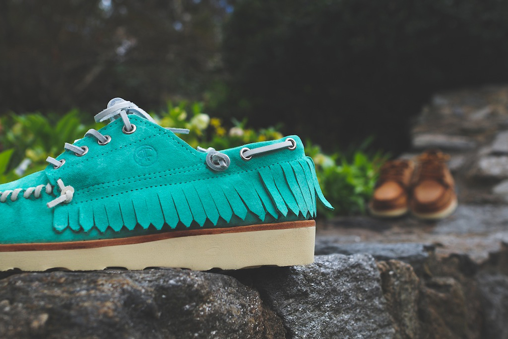 Image of Ronnie Fieg for Sebago 2014 Spring Pancho Collection