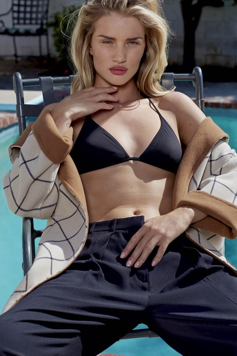 Image of Rosie Huntington-Whiteley for V Magazine Issue 89