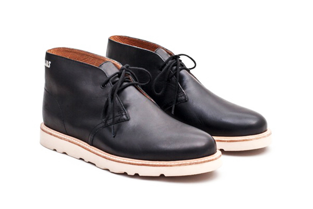 Image of OJAS x Saturdays NYC Leather Desert Boots