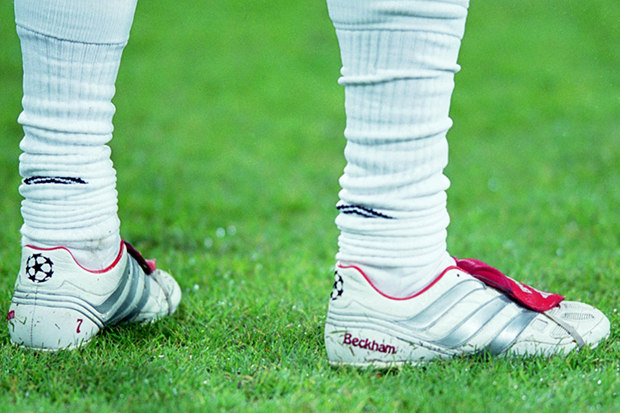 Image of Soccer Bible Highlights David Beckham's Best Boots Over the Years