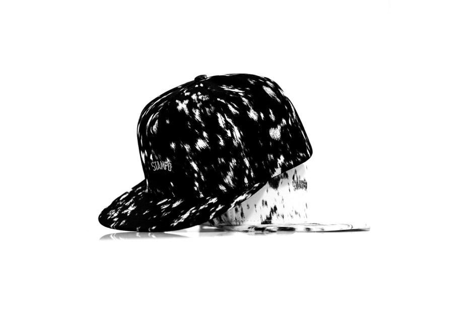 Image of Stampd Calf Hair Printed Hats