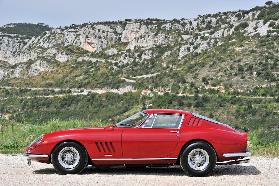 Image of Steve McQueen's 1967 Ferrari 275 GTB/4 for Sale