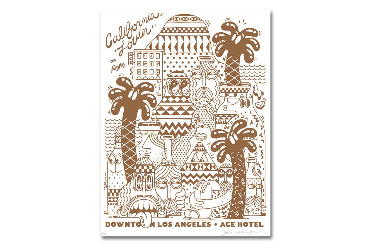 Image of Steven Harrington x Ace Hotel Downtown Los Angeles