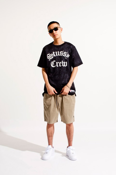 "Image of Stussy 2014 Spring ""Mesh"" Collection"