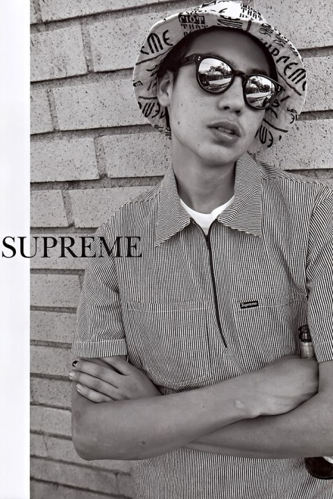 Image of Supreme 2014 Spring/Summer Editorial by GRIND Magazine
