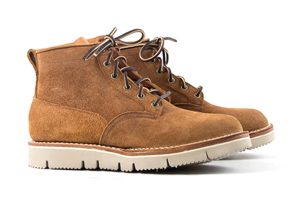 Image of The Bureau Belfast x Viberg Copper Task Rough Out Scout Boot