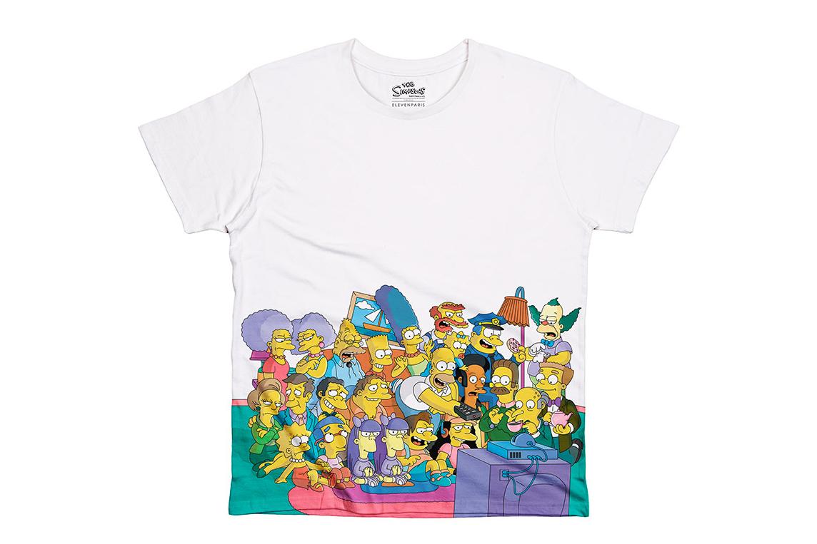 Image of The Simpsons x colette x ELEVENPARIS 2014 T-Shirt Collection