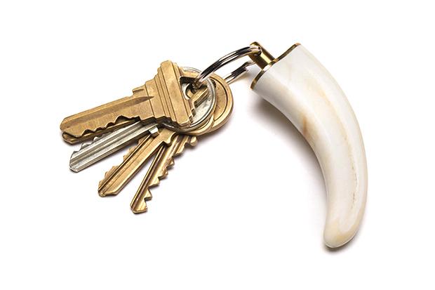 Image of The Untamed Talisman Warthog Keychain
