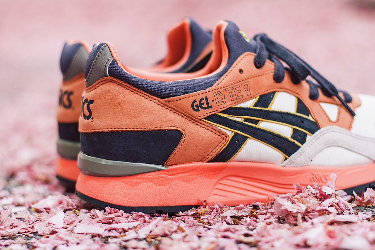 "Image of UBIQ x ASICS Gel Lyte V ""Midnight Bloom"""