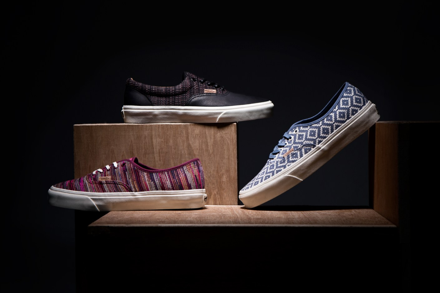 "Image of Vans California 2014 Spring/Summer ""Italian Weave"" Pack"