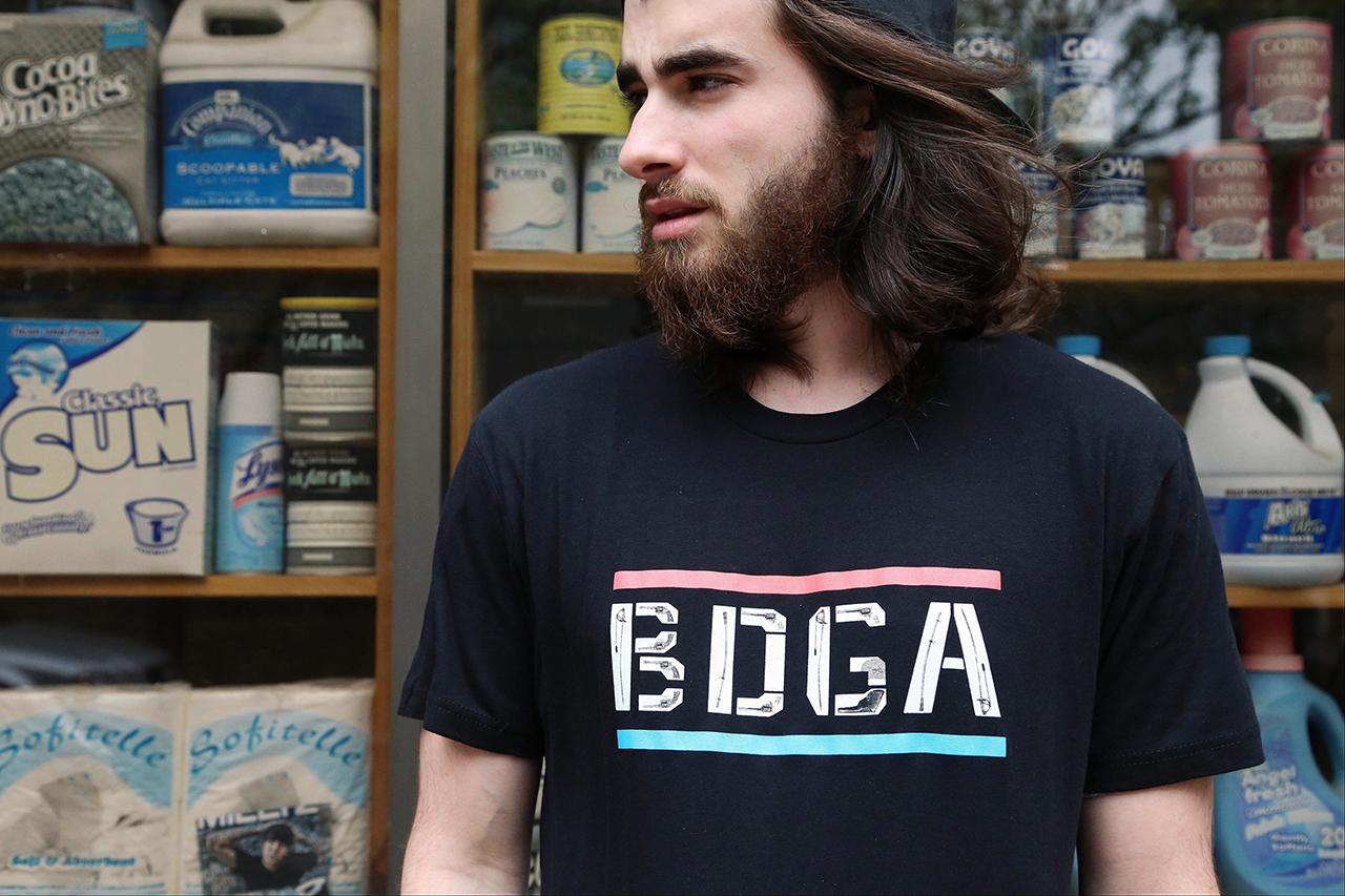 """Image of David Buckley Borden x Bodega """"Wild West at BDGA"""" T-Shirt"""