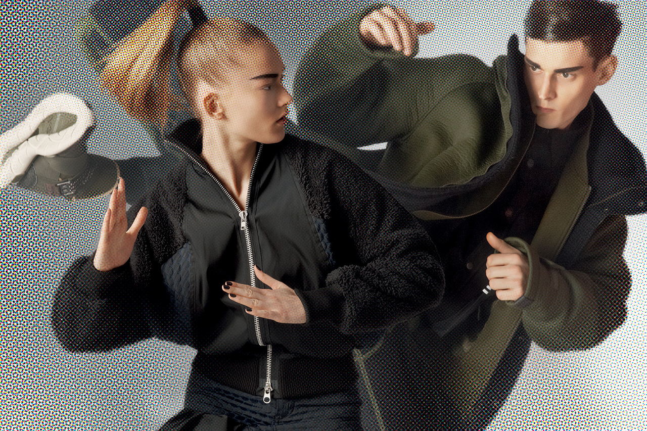 "Image of Y-3 2014 Fall/Winter ""Superheroes"" Campaign"