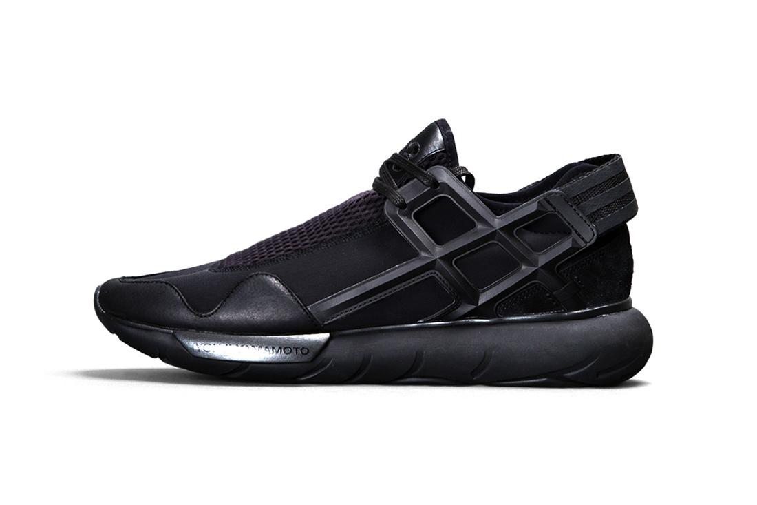 "Image of Y-3 Qasa Racer ""Triple Black"""